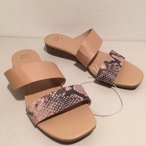 🐍 Snake Print Sandals 🐍